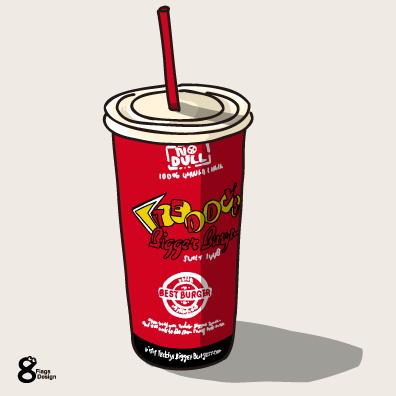コーラのカップ(赤)のキャッチ画像