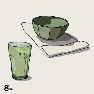 テーブルセット(グリーン)のキャッチ画像