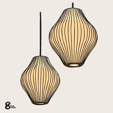 ランプ2個(ゴールド)のキャッチ画像