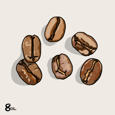 コーヒー豆のキャッチ画像