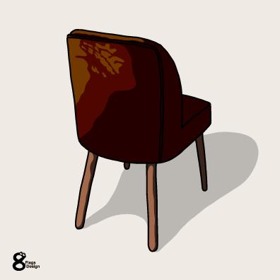 茶色い椅子のキャッチ画像