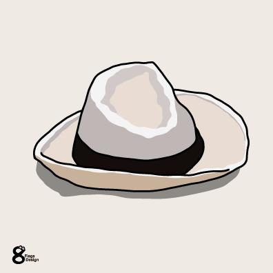 白い帽子のキャッチ画像