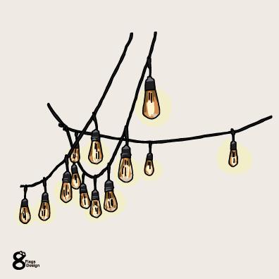 電飾のガートランドのキャッチ画像