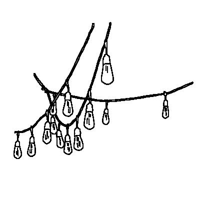 電飾のガートランドライン