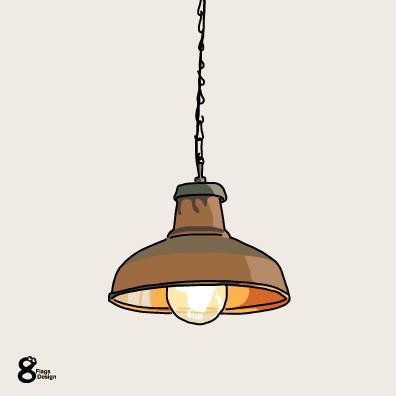 シーリングライト(コッパー)のキャッチ画像