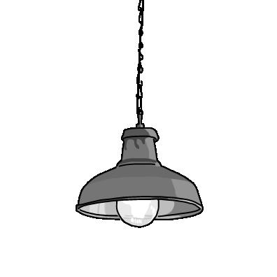 シーリングライト(モノクロ)
