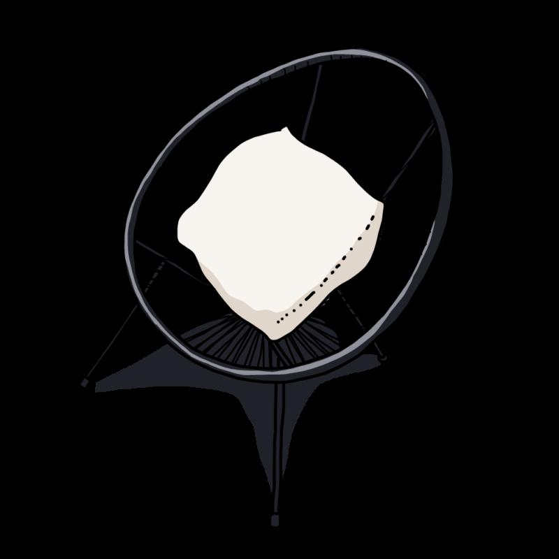 ネットの椅子ホワイト