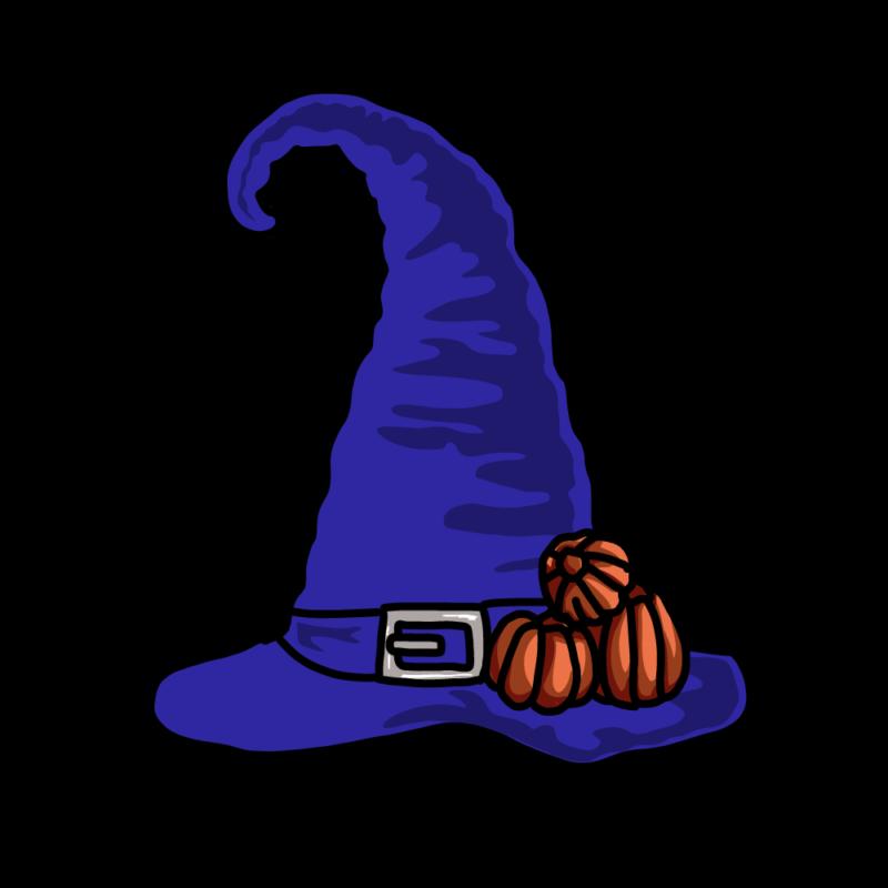 魔女の帽子(ブルー)