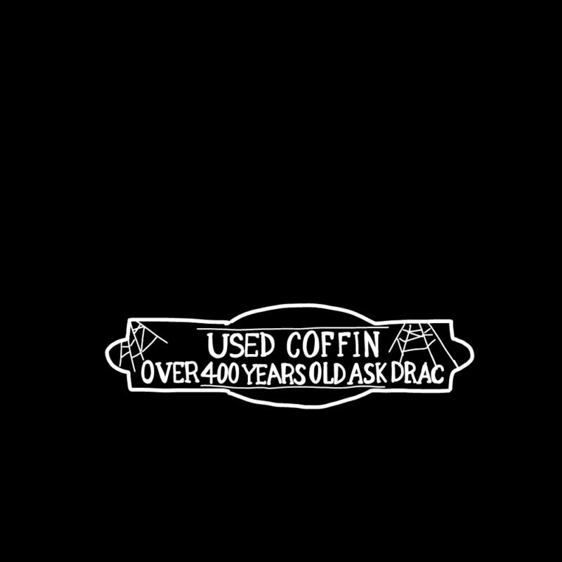 ハロウィンの看板(ブラック)