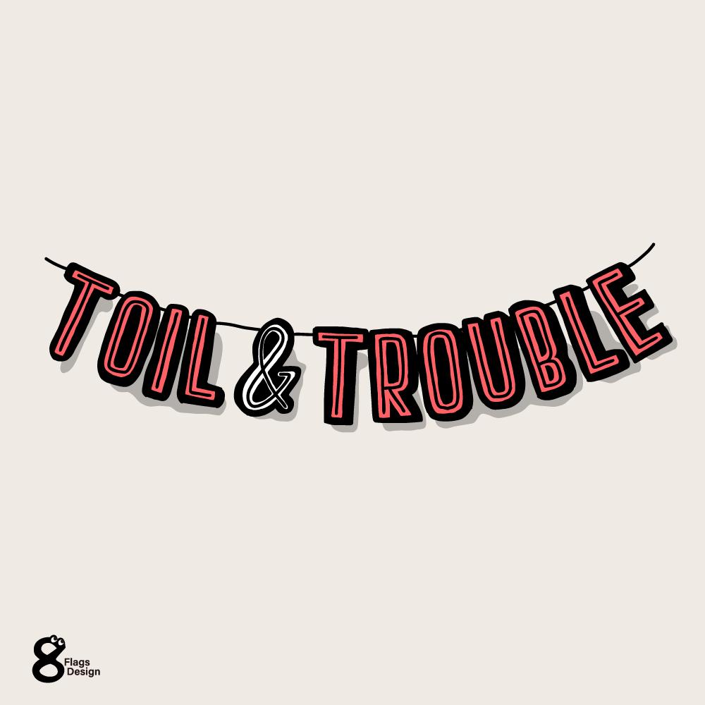 労苦(toil & trouble)のガートランドのキャッチ画像
