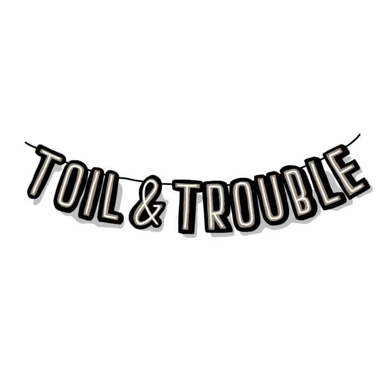 労苦(toil & trouble)のガートランド(黒)