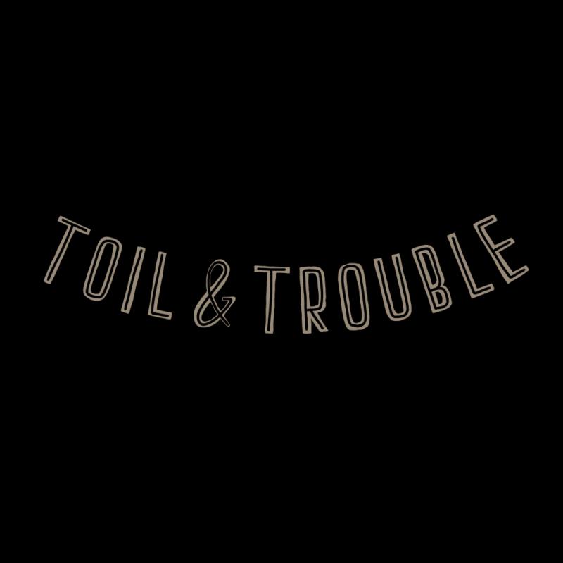 労苦(toil & trouble)のガートランド(モノクロ)