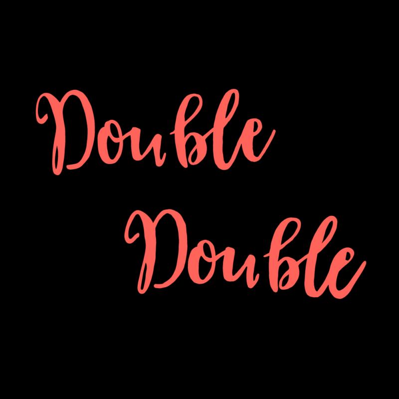 double,double(オレンジ)