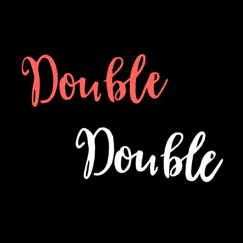 double,double(バイカラー)