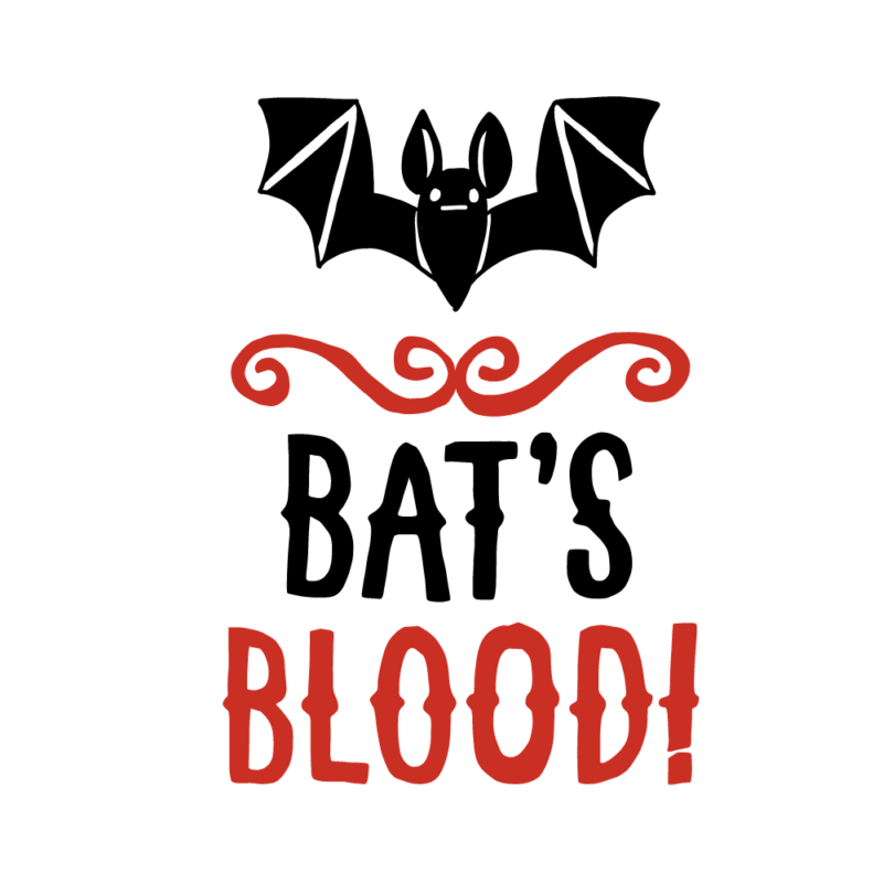 コウモリの血のエンブレム(バイカラー)