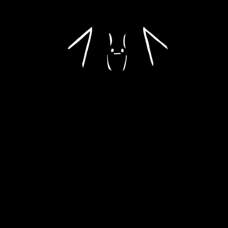 コウモリの血のエンブレム(ブラック)