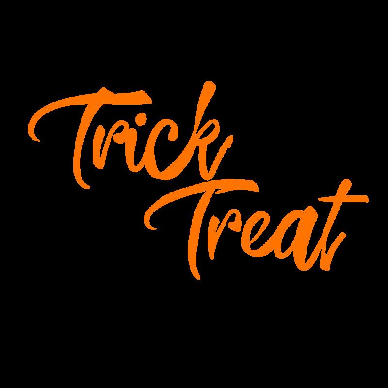 トリックオアトリートtrick or treatオレンジ