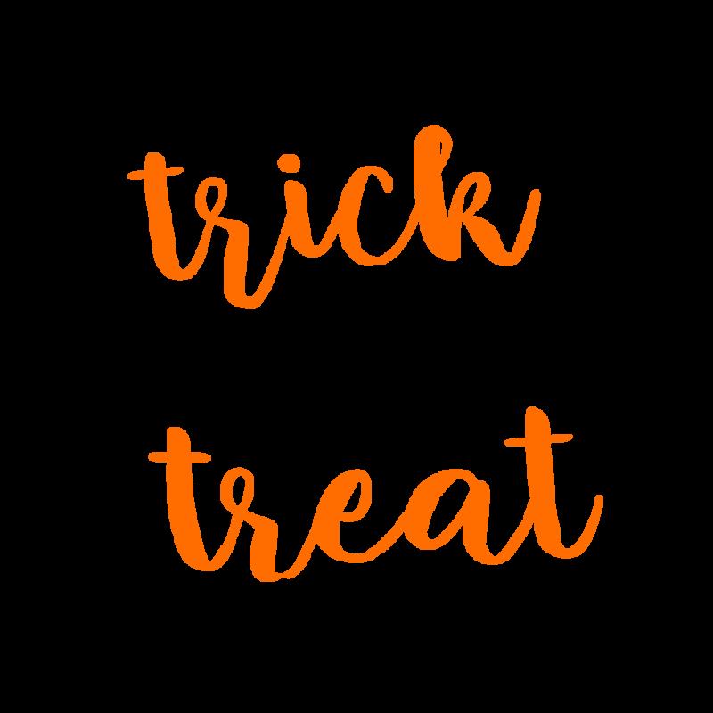 トリックオアトリートtrick or treat2オレンジ
