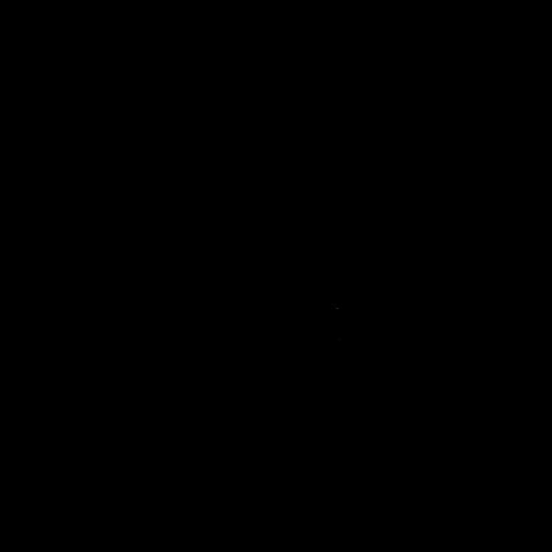 ハロウィンのフレームと植木鉢ライン