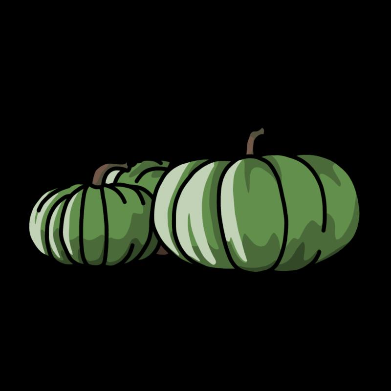 白いカボチャグリーン
