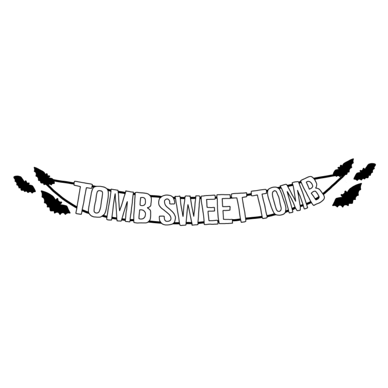 楽しい我が墓 tomb sweet tombライン