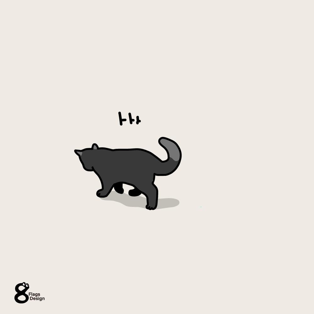 小走りネコのキャッチ画像