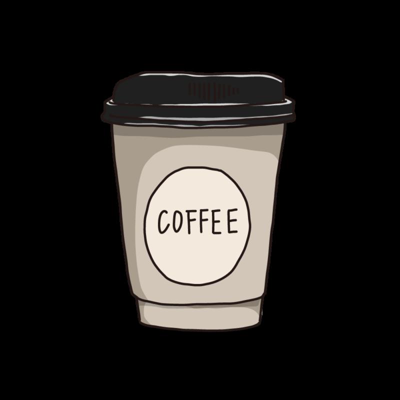コーヒーカップ(テイクアウト)アイボリー