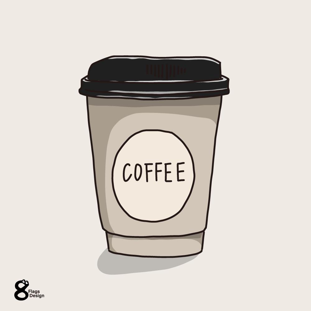 コーヒーカップ(テイクアウト)のキャッチ画像