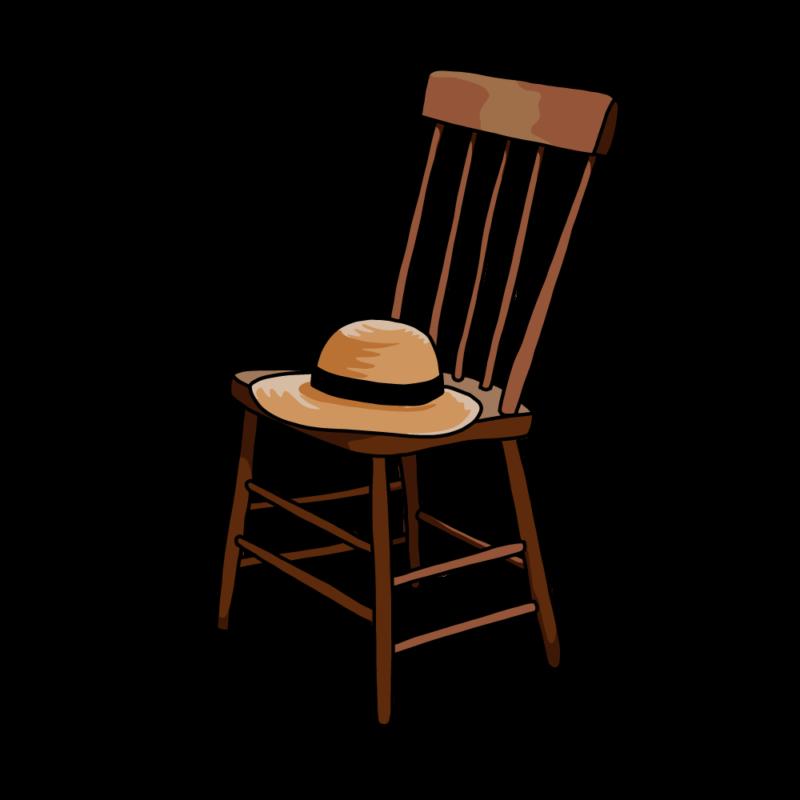 椅子と麦わら帽子ノーマル