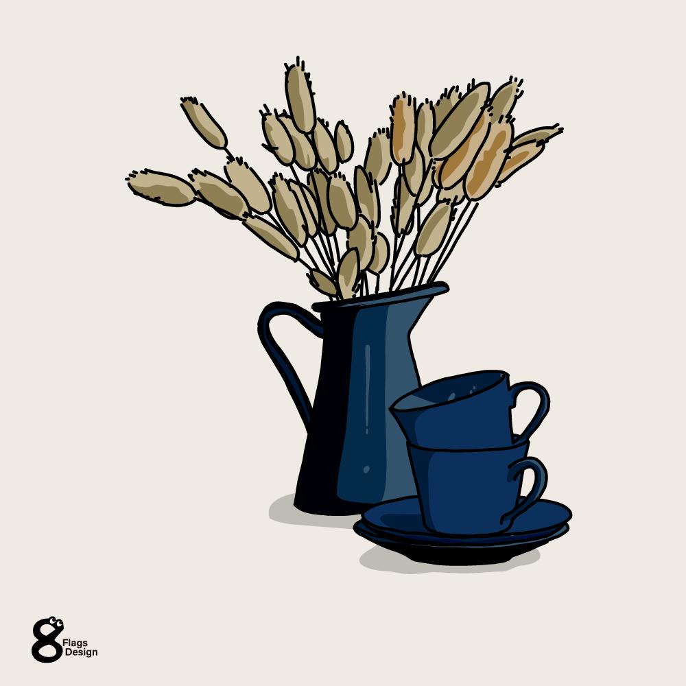 ラグラスとカップのキャッチ画像
