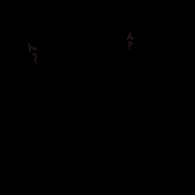 アホ毛の文鳥ライン