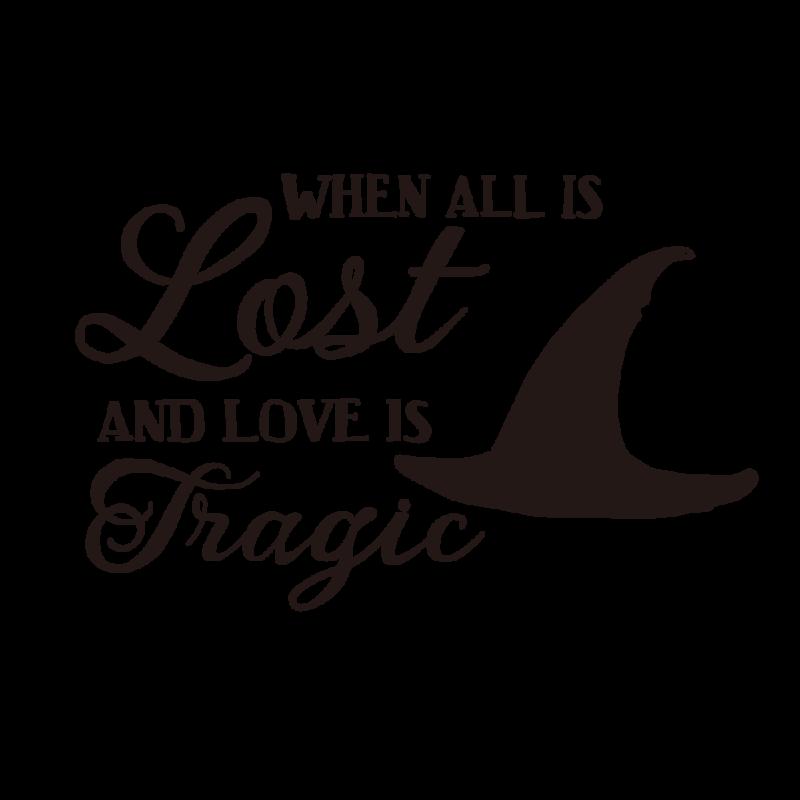 失われた愛ブラック