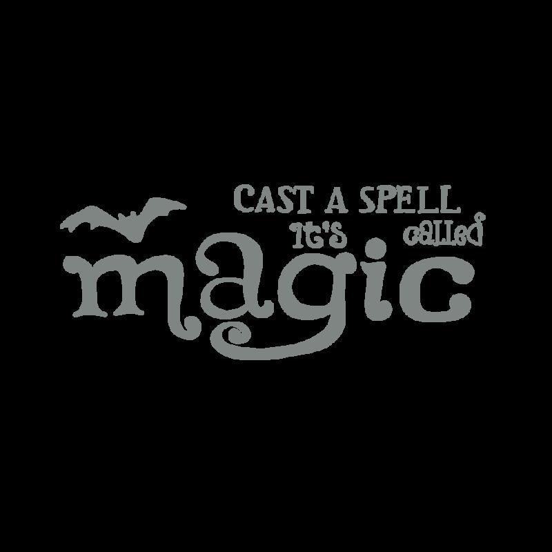 魔法を唱えるグレー