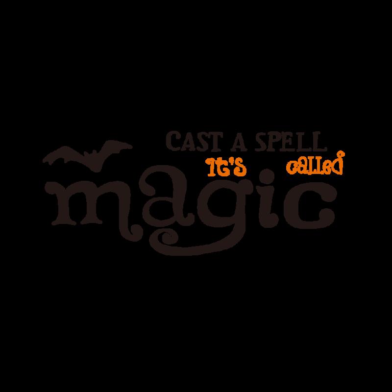 魔法を唱えるバイカラー
