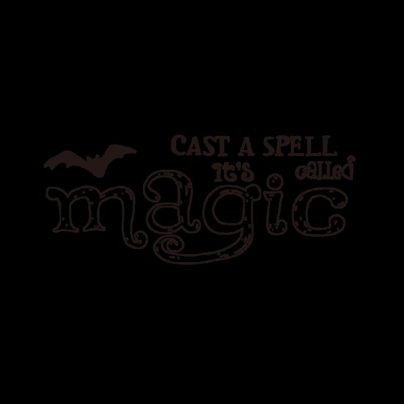 魔法を唱えるライン