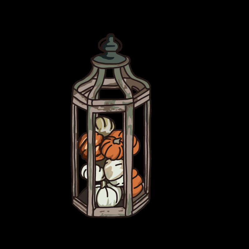 カボチャのランプコッパー