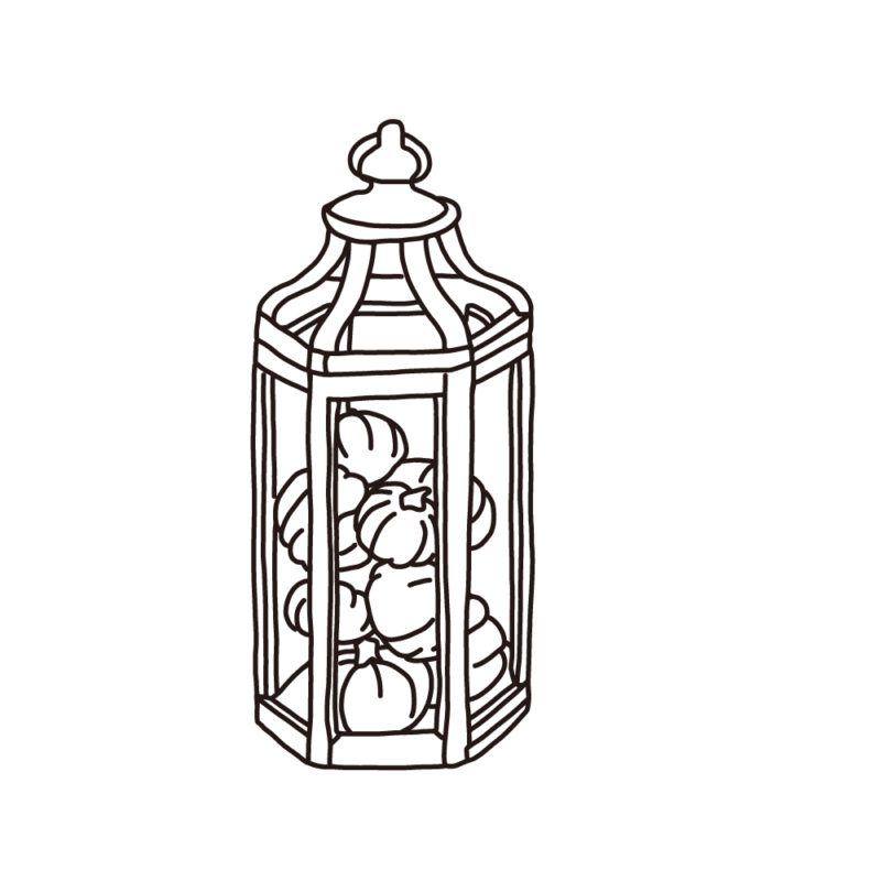 カボチャのランプランプ