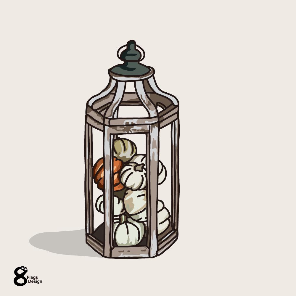 カボチャのランプのキャッチ画像