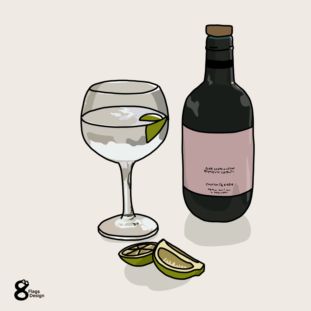 ワインとグラスのキャッチ画像