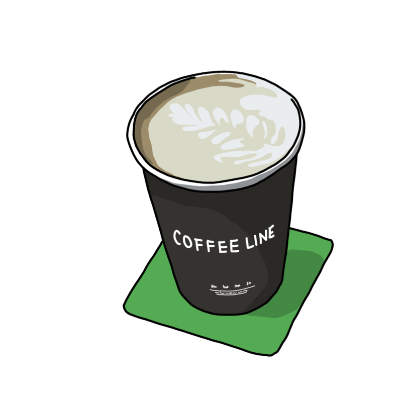 コーヒー黒