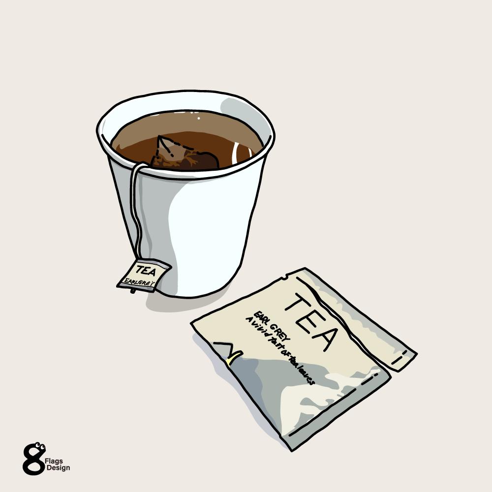 紅茶のカップのキャッチ画像