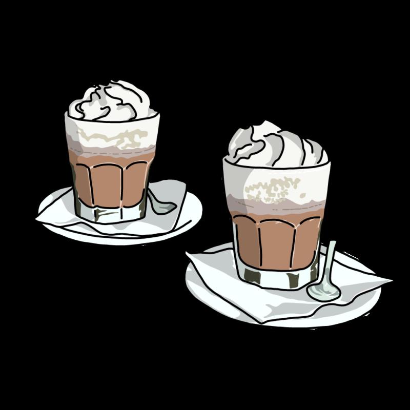 コーヒーラテホワイト