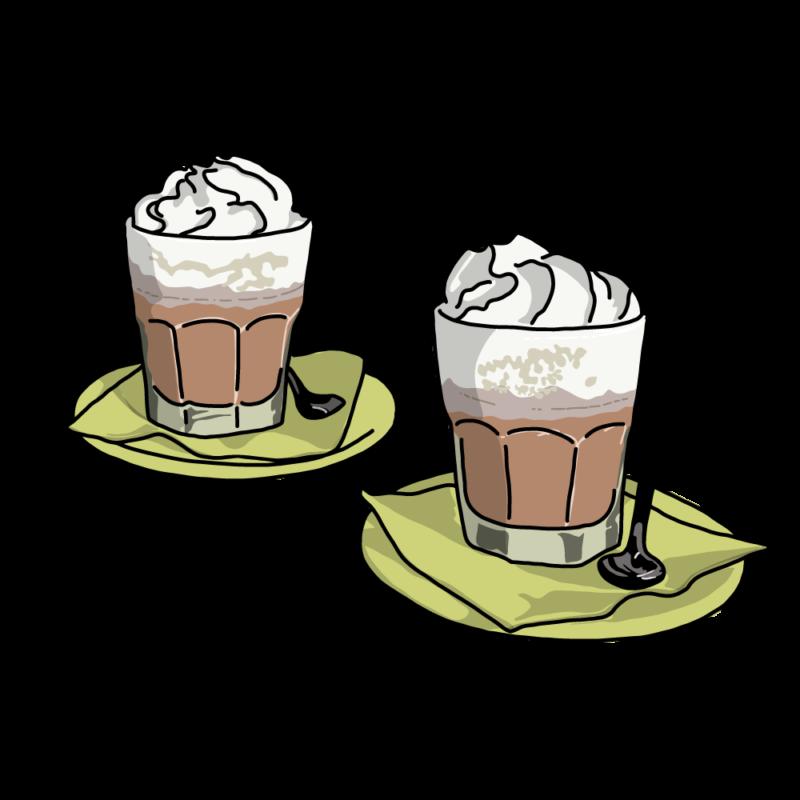 コーヒーラテグリーン