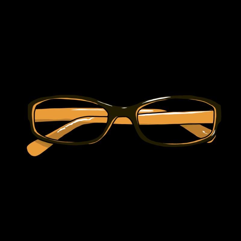メガネ黄色