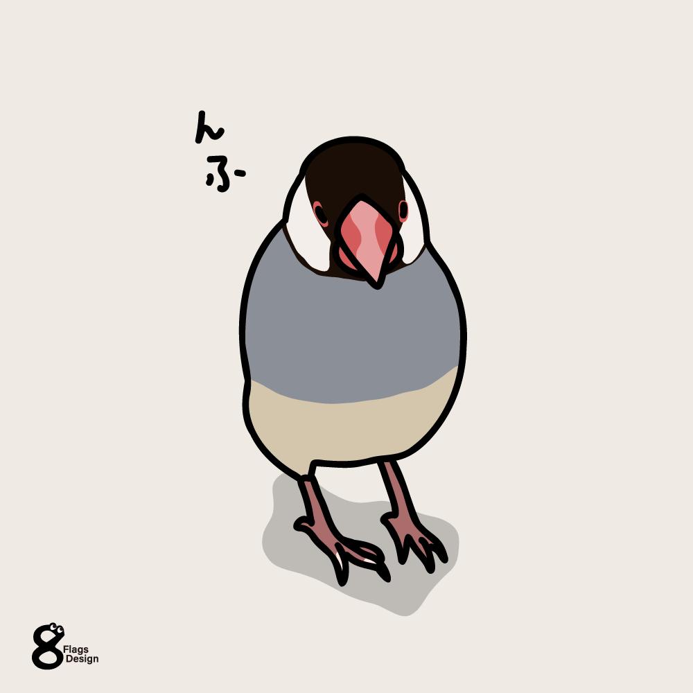 小悪魔な文鳥のキャッチ画像