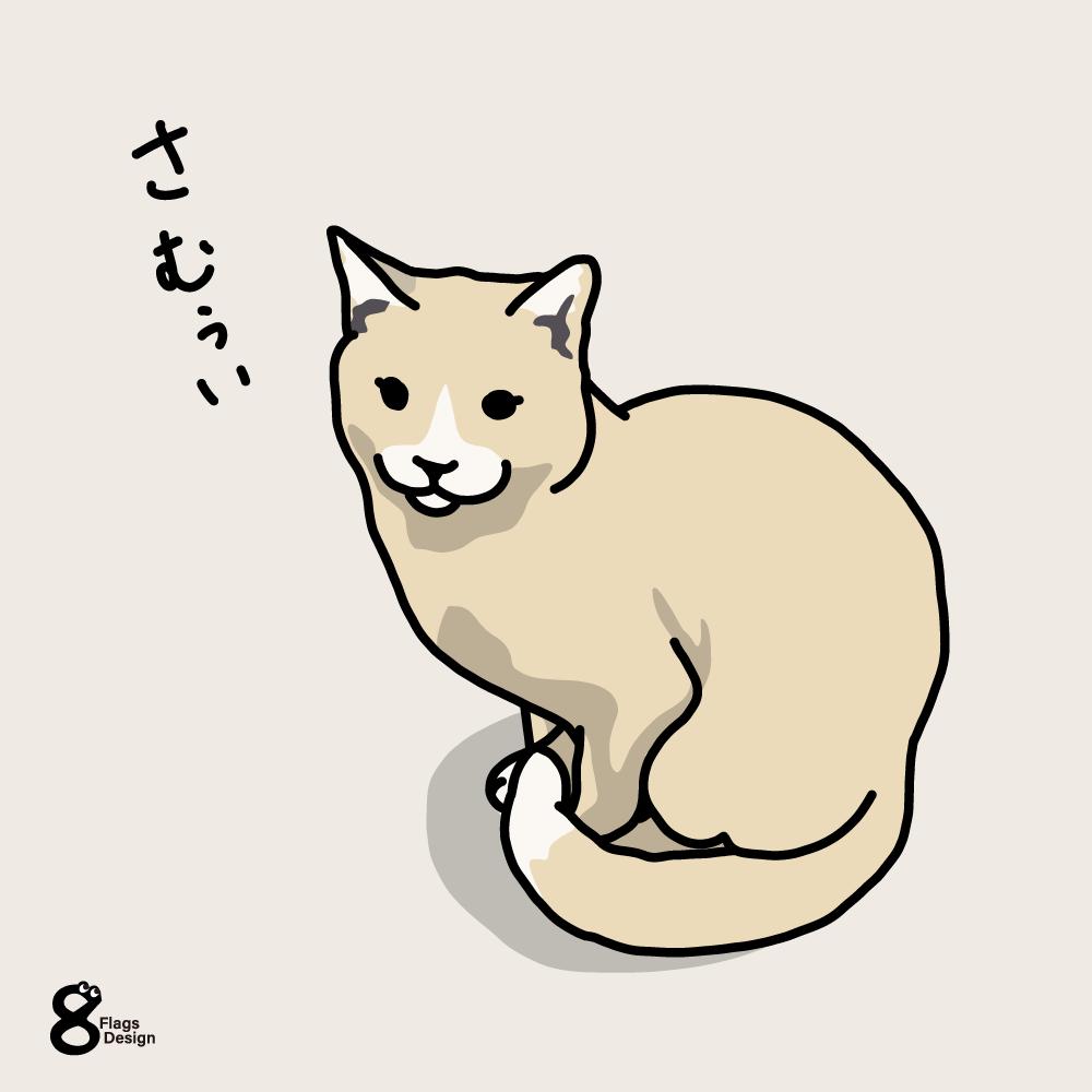 寒がりネコさんのキャッチ画像
