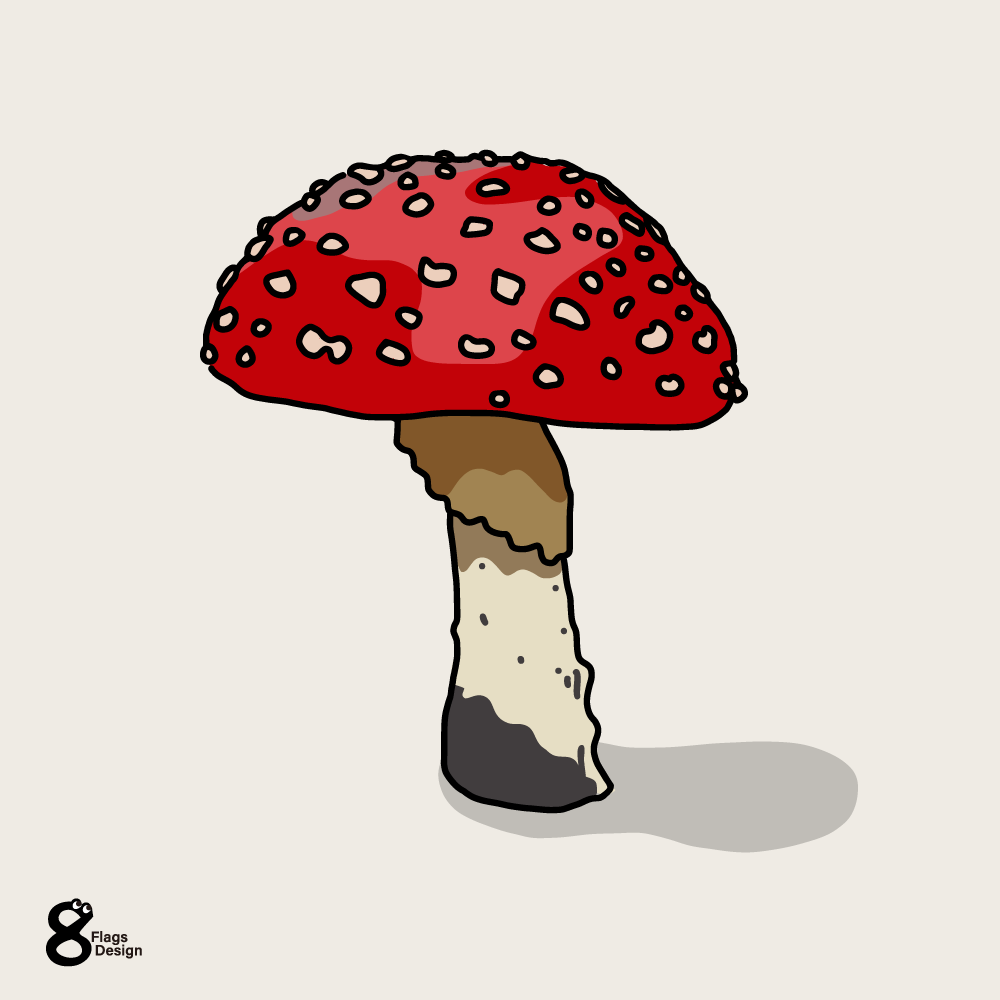 キノコ(毒)のキャッチ画像
