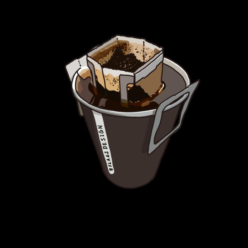 ドリップコーヒー茶