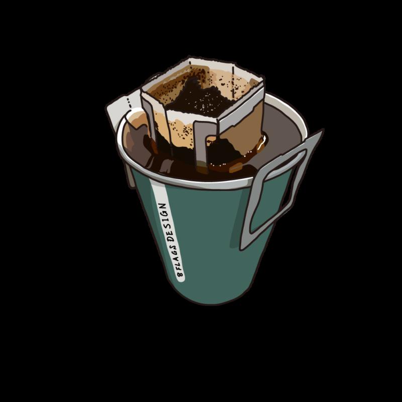 ドリップコーヒーグリーン
