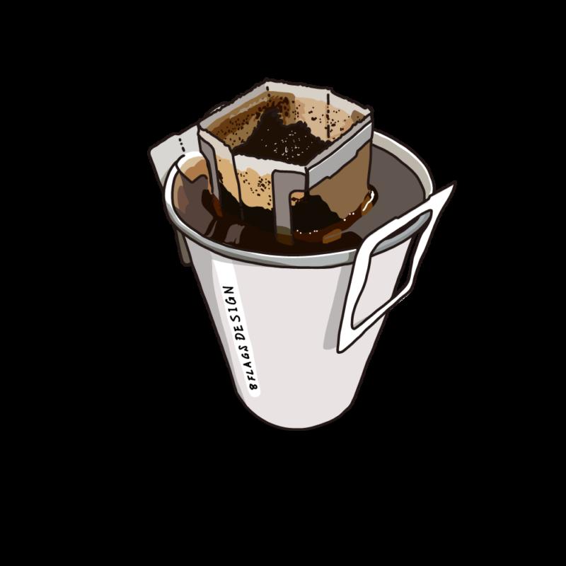 ドリップコーヒーホワイト